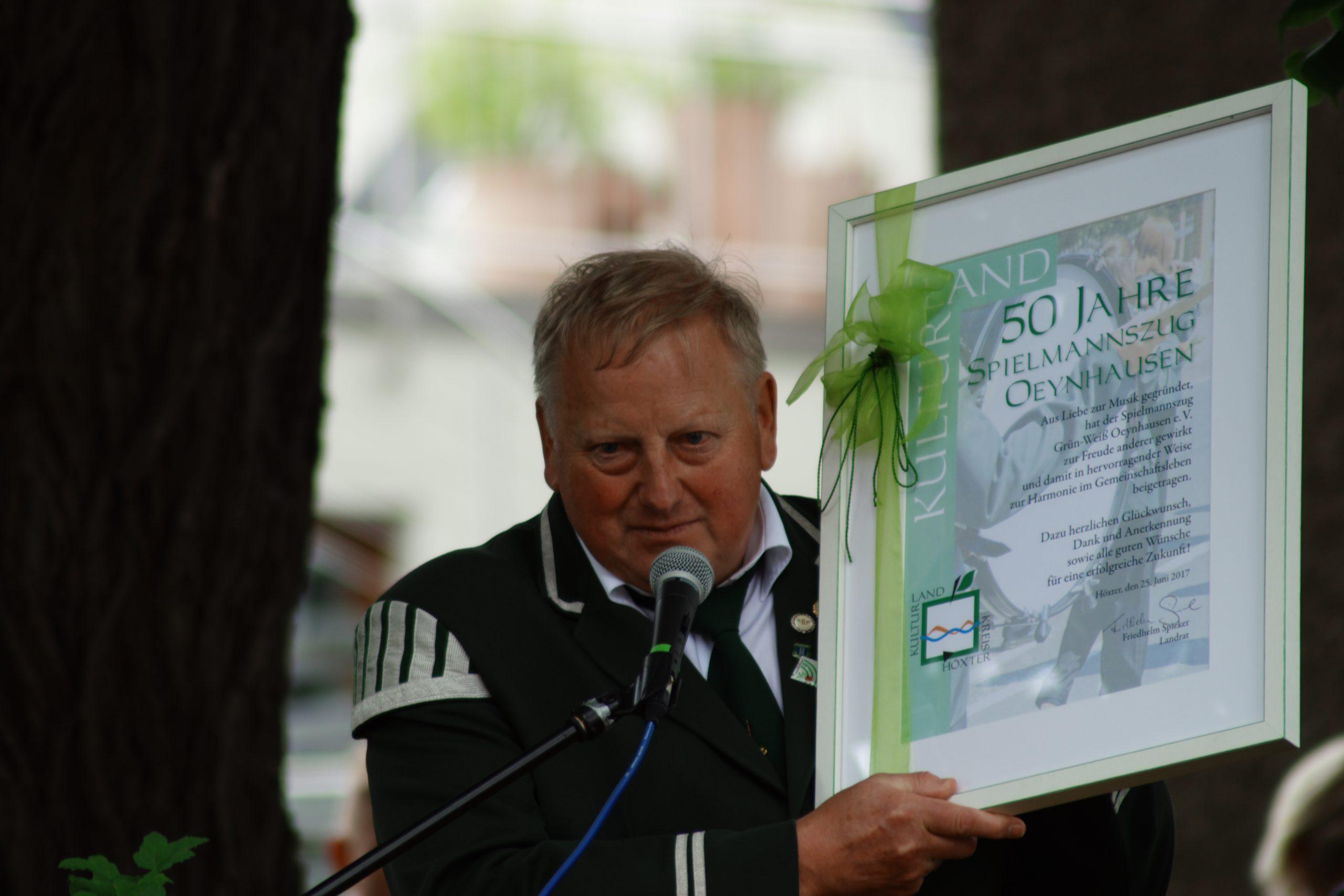 50 Jahre Spielmannszug